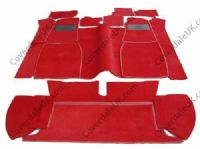 MGC Roadster 4 Synchro 1967 to 1969 Carpet Set - Kensington Luxury Wool Range
